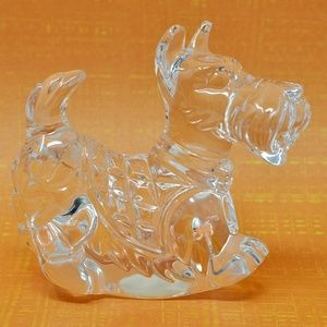 Princess House Accents - Vintage Crystal Scottish Terrier Figurine